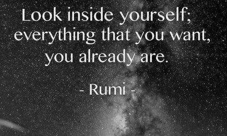 Rumi You Already Are
