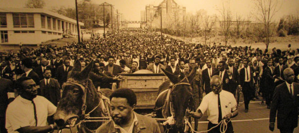 Dr. King Funeral Procession